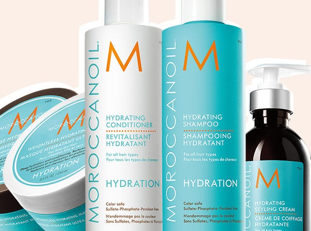 Hair Hydration Collection For Dry Hair Moroccanoil