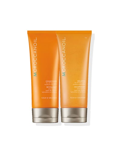 Moisture & Shine Shampoo and Conditioner Duo - Fleur d'Oranger