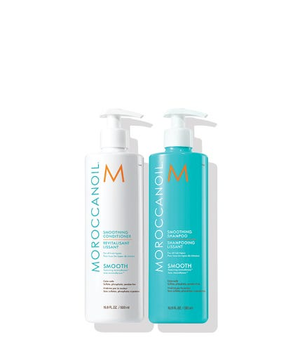 Smoothing Shampoo and Conditioner 500ml Duo