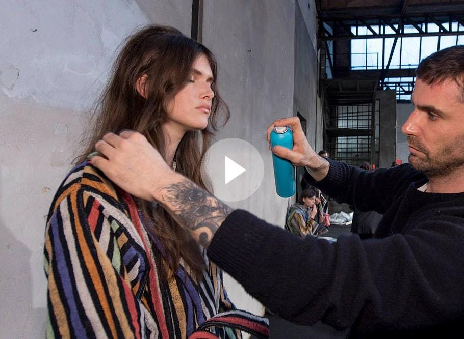 MFW Autumn/Winter 2016 Backstage with Moroccanoil at Missoni 6