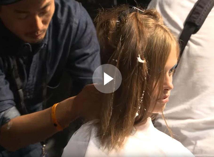 MFW Spring 2016: Backstage with Moroccanoil at Missoni 9