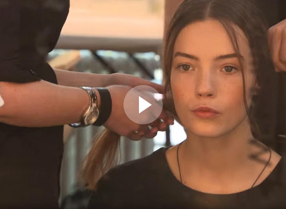 LFW Spring/Summer 2016: Backstage with Moroccanoil at Temperley London 10