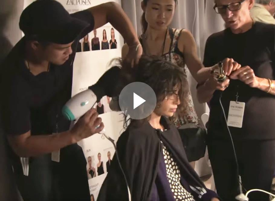 NYFW Spring/Summer 2016 Backstage with Moroccanoil at Zac Posen 12