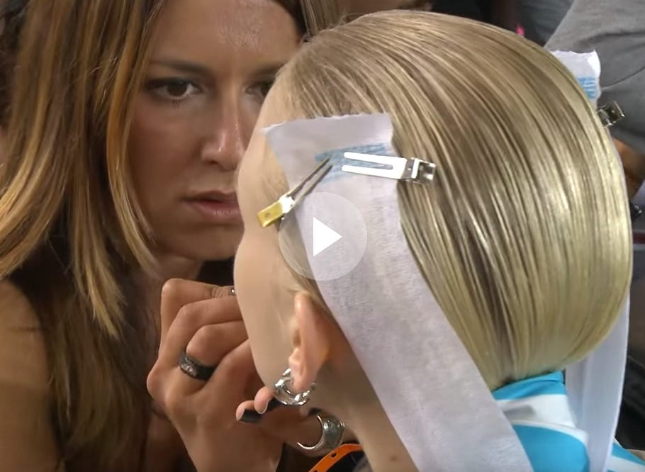 MFW Spring 2015: Backstage with Moroccanoil at Missoni 21