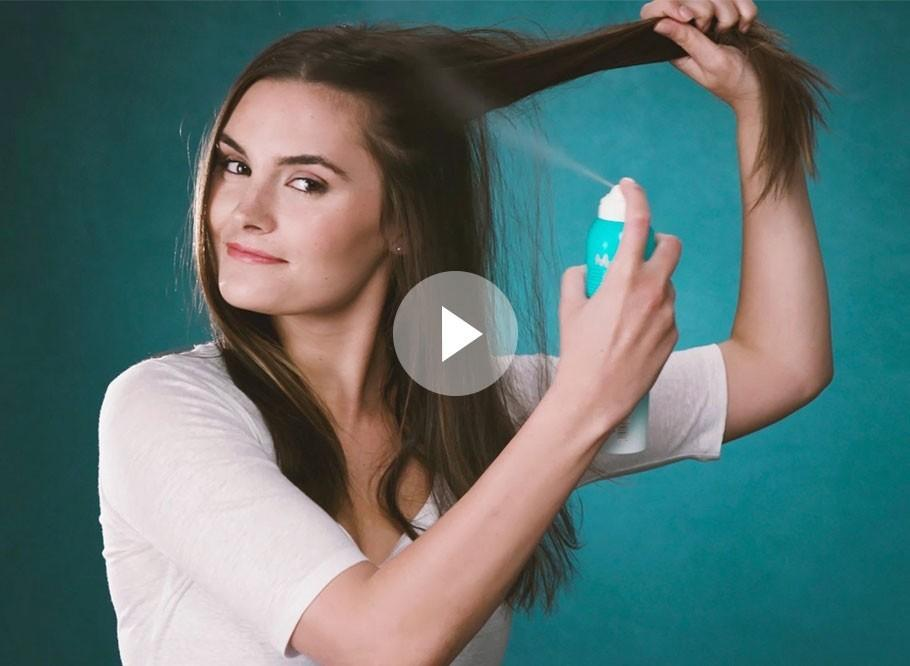 Refresh Hair Fast with Moroccanoil Dry Shampoo