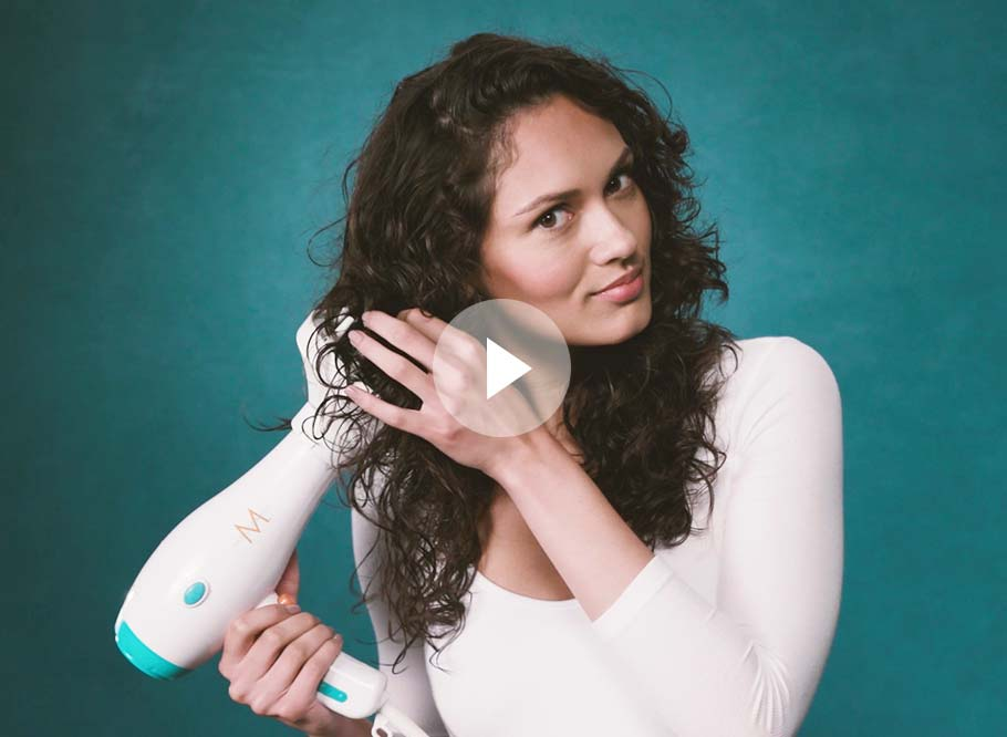 How to Condition Your Curls with Moroccanoil Intense Curl Cream